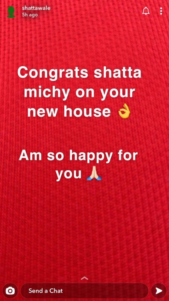 shatta-wale-congratulates-shatta-michy-for-buying-a-new-house